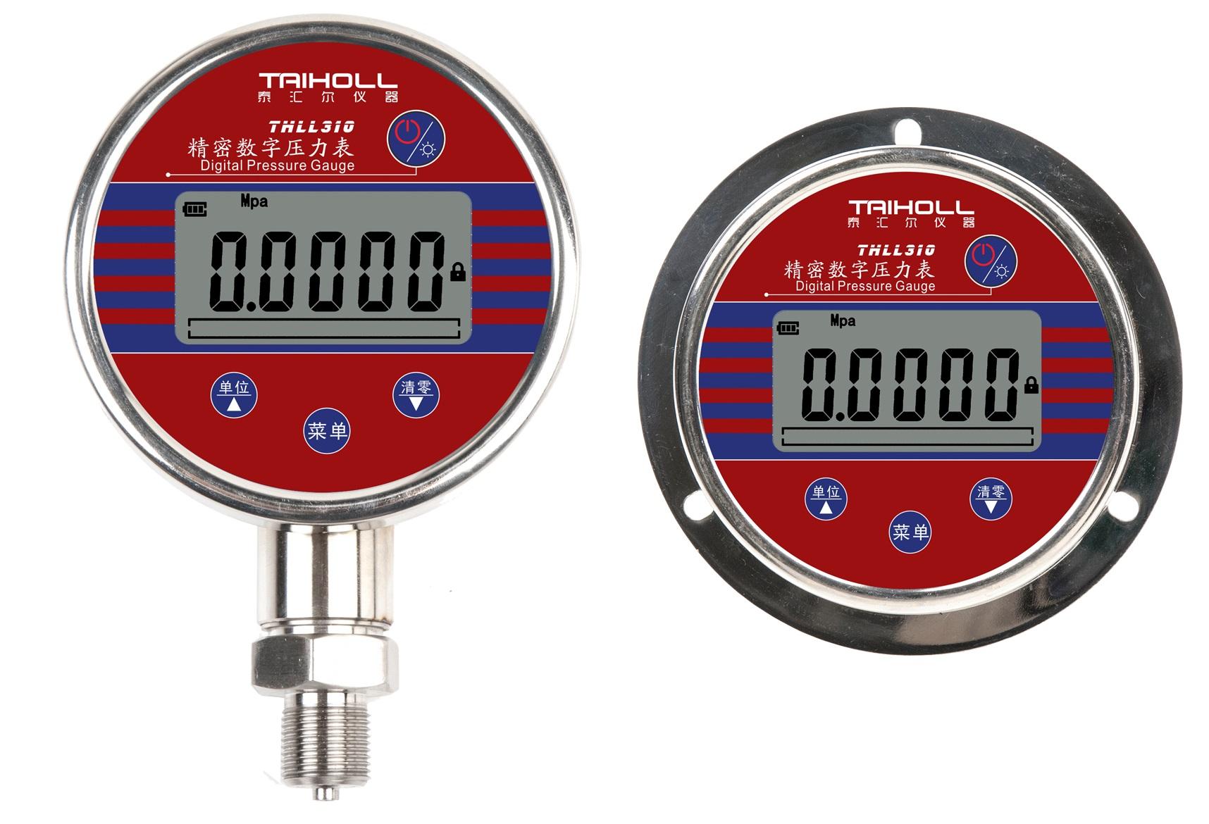 数字压力表以功能左右的分类及使用环境